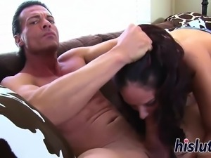 Tiny Sheena is down for some anal
