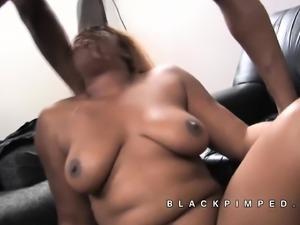 Annabelle big tits black ho used by pimp