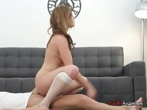 Busty Teen Shakila Asti Rides Her Hung Boyfriend