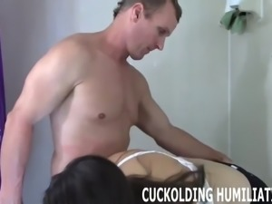Your cock is nowhere near big enough for me