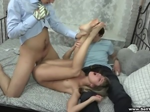 Magnificent Lisa, Curtis And Kevin Have A Dirty Threesome