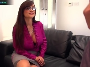Busty teacher Lisa Ann got her snatch stuffed with big cock