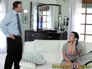 Real pornstar creampied