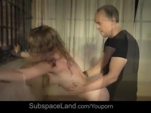 Tie me up in pleasure, Sir! Teen begging to be bondage fucked