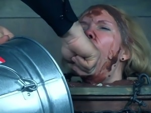 Nasty Rain DeGrey messed up and humiliated in hardcore video