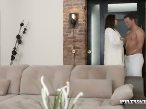 Extremely arousing anal fuck video starring tempting Emily Thorne