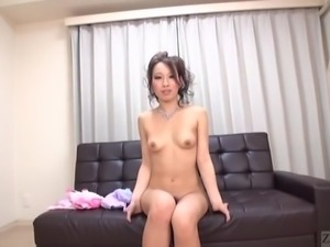 Subtitled Japanese hostess private parts zooming showcase