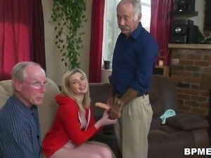 Braces Teen Stacie Fucks Old Man