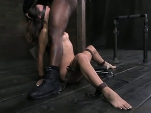 Bent over woman really loves being fucked by her lovers