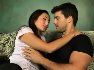 Beautys lusty dick adoration is making stud losing control