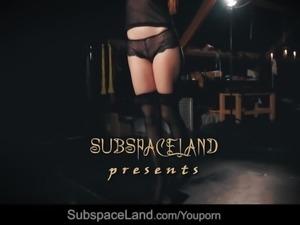 Hardcore cunt domination for submissive Rebecca Volpetti
