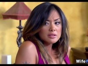 Asian Wife Fucks hitman