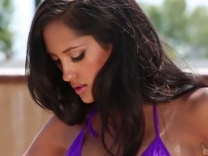 It is time for the gorgeous Chloe Amour to get a proper pussy drilling