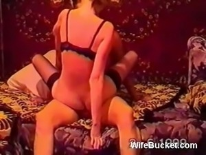 Restless Russian girlfriend rides dick of her boyfriend