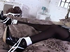 Unfaithful english milf lady sonia presents her huge tits