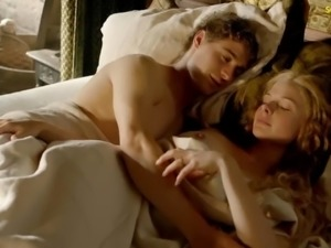 Rebecca Ferguson Nude Boobs And Fucking In The White Queen T