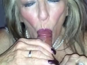 Old British Prostitute Blowjob 2