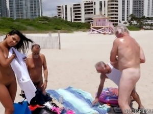 three old men offered to help her