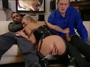 Julie Silver Latex Group Sex