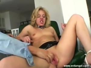 Horny blonde gets facial cumshot after Hardcore blowjob and pussy fingering