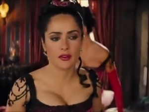 Salma Hayek and Penelope Cruz pseudo porn