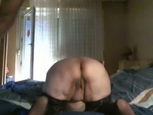 My former neighbor was drilling slutty wife of his from behind on creaking bed