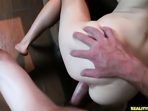 Romeo Price has a good time banging unthinkably sexy Alison Fayes mouth