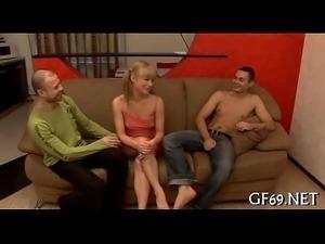 Mind-boggling trio sex