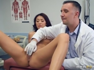 Kara Faux wants to play with a hot doctor's throbbing cock