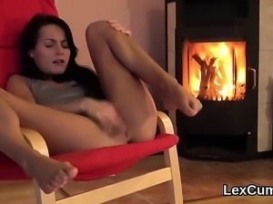 Perfect comes and czech sex-kitten lexi dona hands