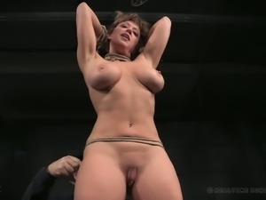 Hot and busty white milf teases with her gorgeous booty