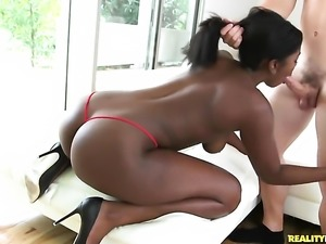 Camille Amore with phat ass and bald