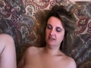 Casting hairy french mum Blanca from 1fuckdatecom