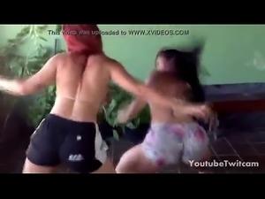 Dos Brasile&ntilde_as Culonas Bailando