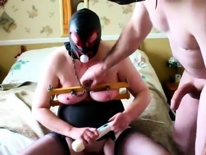 My dirty Pig Slave toying at my command