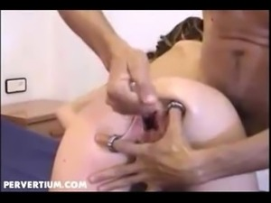 Extreme Pierced Gaping Cunt Whisked and Punish Fisted