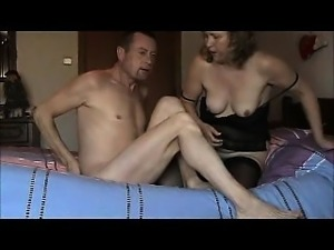 55 yo bitch wife marie with toys and 69 and facial
