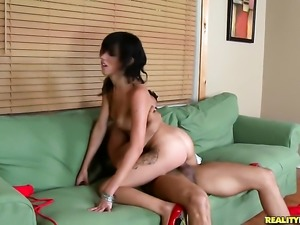 Tattooed hussy Binky Bangs and Brannon Rhodes are