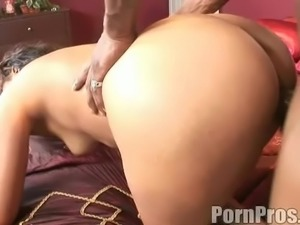 Long hair cowgirl loves blowjob before hardcore doggystyle throbbing