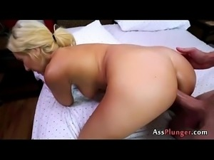 Kelly Paige - Creampied Anal Fucked Blond