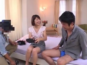 Dinner, hot bath and rough pounding with Nanami Kawakami