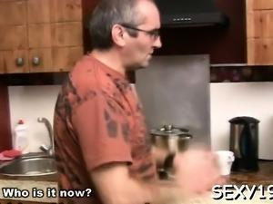 Old teacher is enchanting pleasing babe's cum-hole