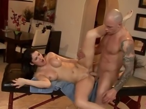 Eva Carrera's Anal Massage