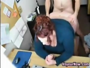 Workplace Camera Captures Employees Fucking