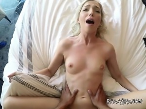 Blonde Chick Zoe Parker Gets Banged And Jizzed On