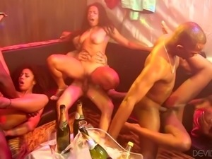 the hottest black orgy in town @ black kings and queens