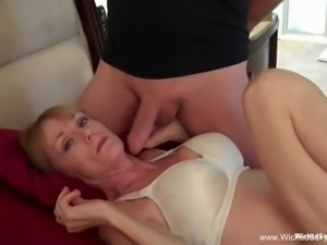 MILF Can't Help Herself