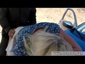 Cop fucks guy with strapon Blonde stunner does it on the bondage mask