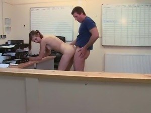 Mishka Devlinis is fucking with her teacher after lessons