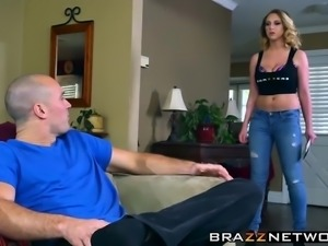 Big tits blonde slut in heat craves a hardcore twat drilling